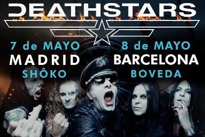 Dream Theater, Deathstars, Gineta Rock, Leprous, Joe Bonamassa, The 69 Eyes...