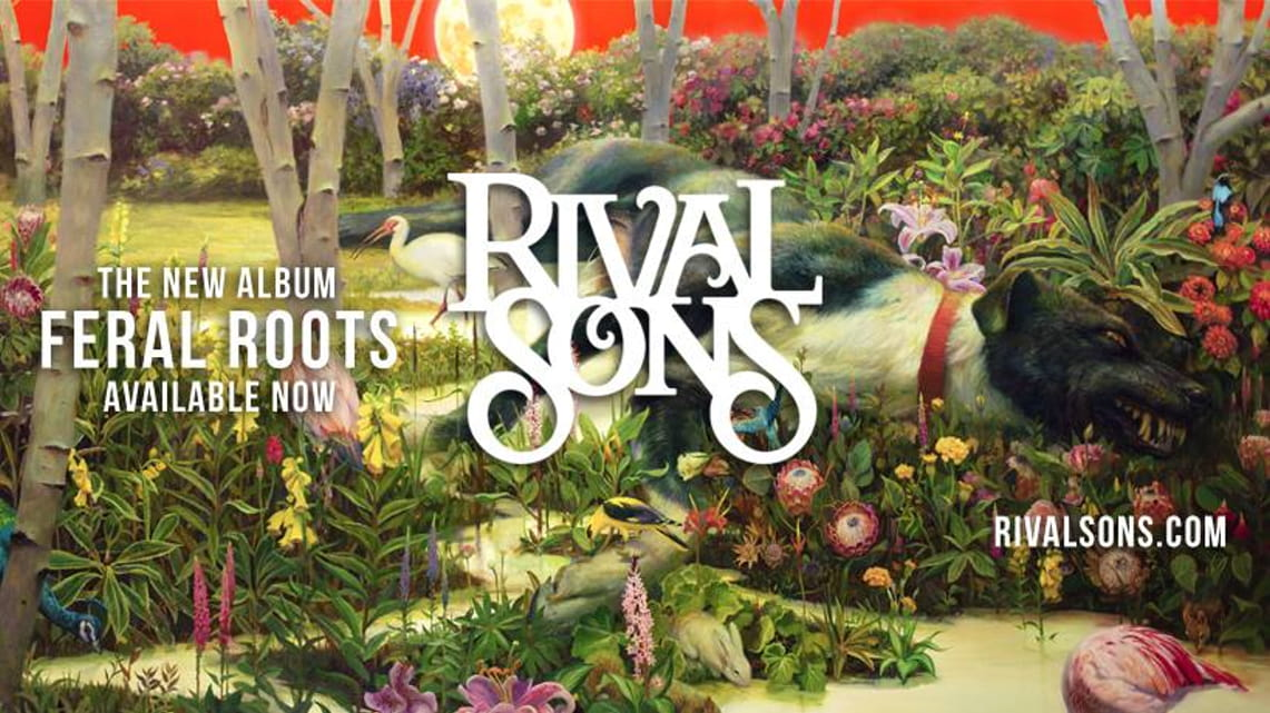 Rival Sons: Feral Roots // Low Country Sound (Elektra Records)