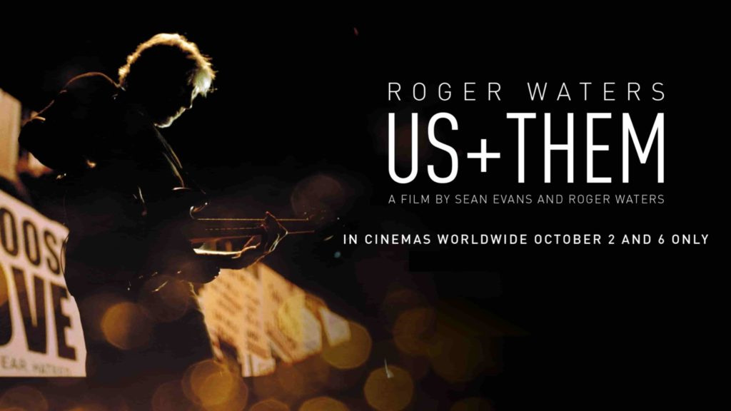 «Us + Them» de Roger Waters, este otoño en cines