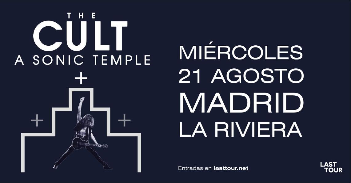 Detalles del concierto especial de The Cult en Madrid