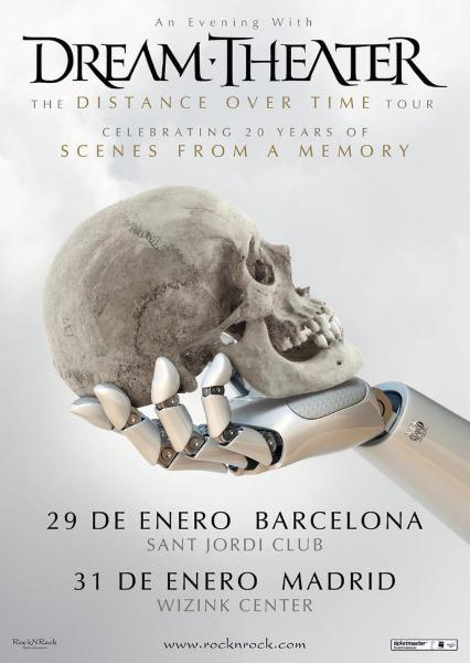 Gira española de Dream Theater