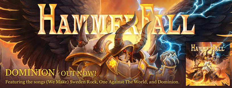 Hammerfall: Dominion // Napalm Records