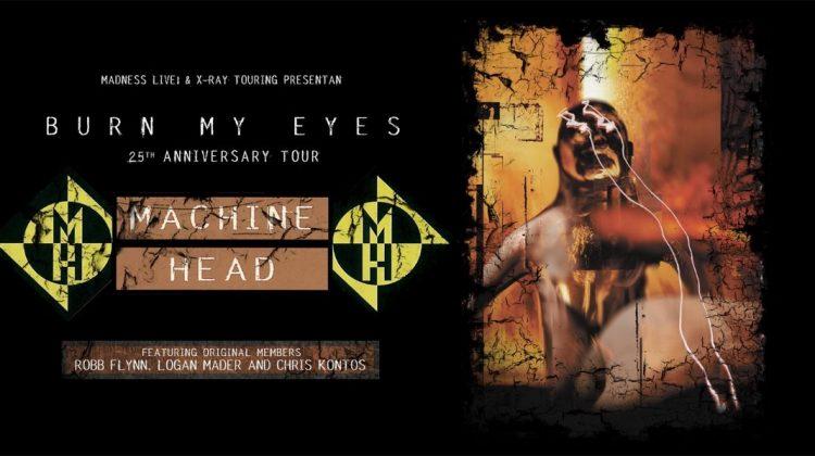 Machine Head vuelven a España con gira especial