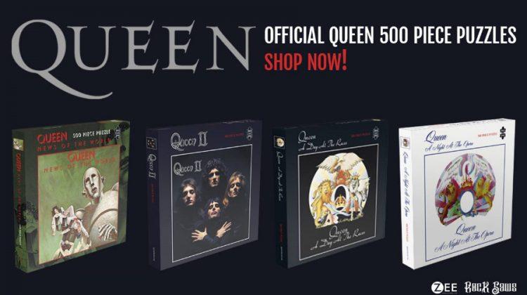 Nuevos puzzles de Queen, Guns'n'Roses y Iron Maiden