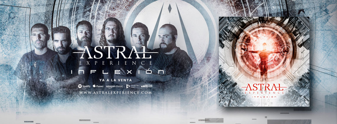Astral Experience: Inflexión // Rock CD