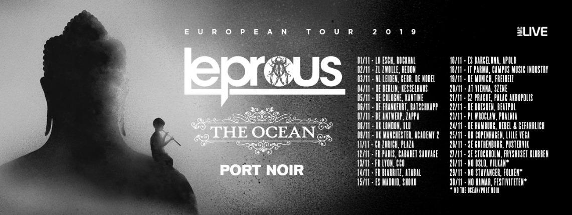 Setlist de la gira europea de Leprous