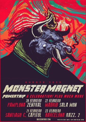 Dry River, Rock the Night, Gluecifer, Eclipse, Magnum, Leprous, Los Zigarros...