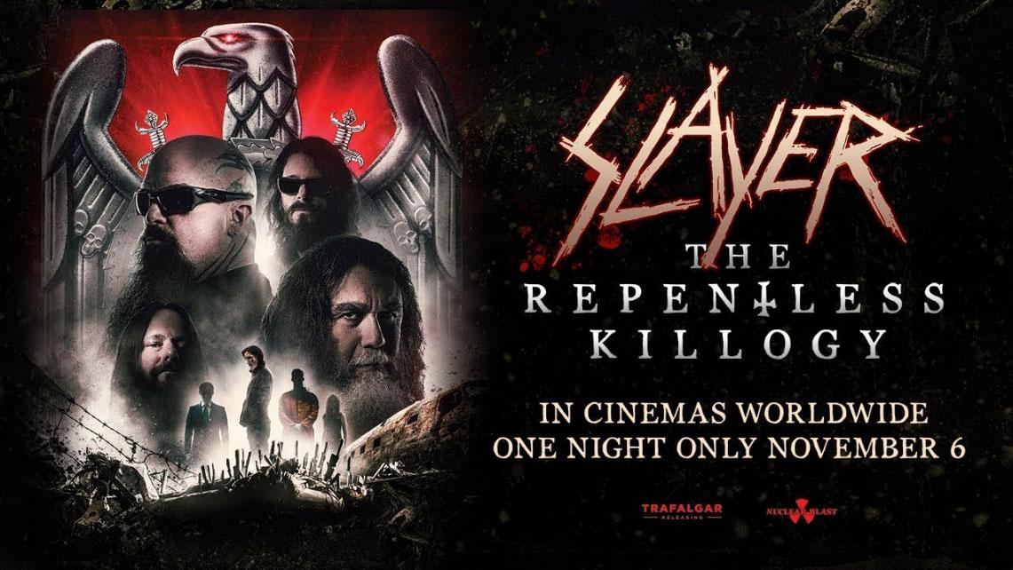 Slayer en cines, el próximo mes de Noviembre…