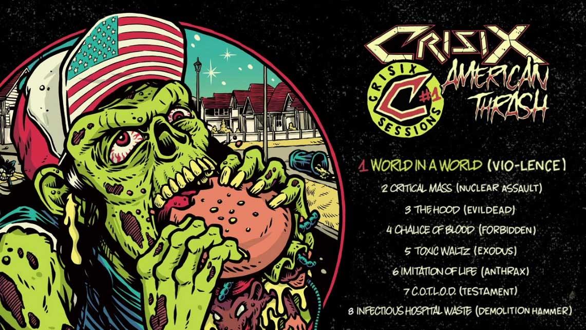 Crisix: American Thrash (Vol.I) // Listenable Records