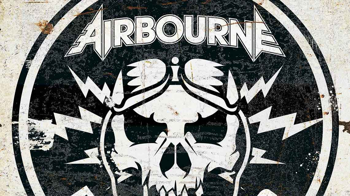 Airbourne: Boneshaker // Spinefarm Records