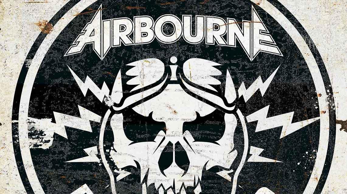 Airbourne: Boneshaker // Spinefarm Records