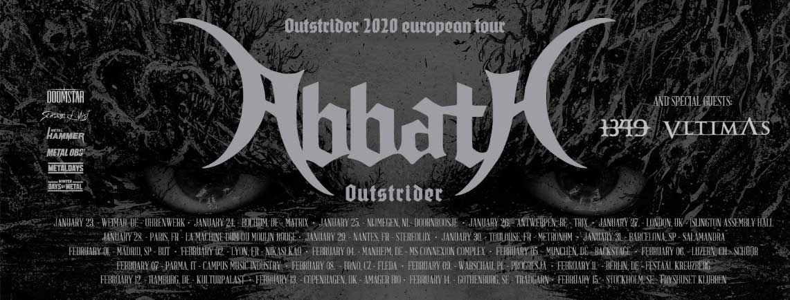 Ya falta menos para la gira de Abbath