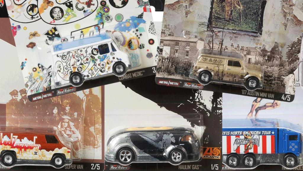 Hot Wheels saca una colección de coches de Led Zeppelin