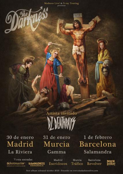 Fechas de la gira española de The Darkness