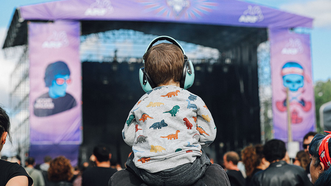 Distribución por días del Azkena Rock Fest 2020