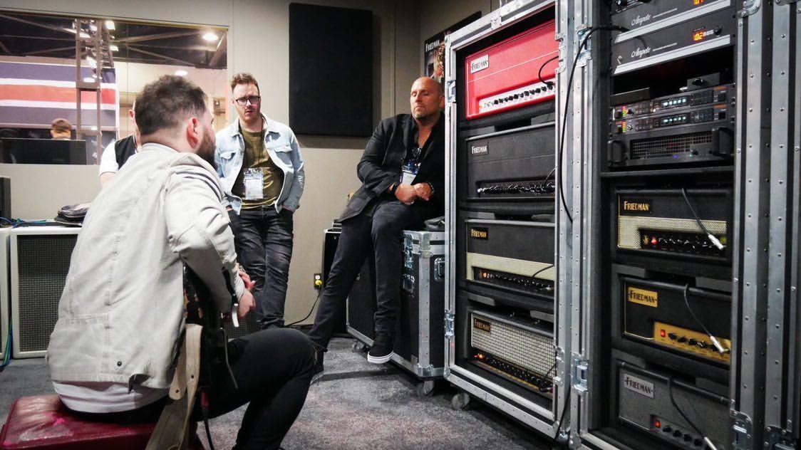 Tony «Waka» Martínez nos habla sobre su visita al NAMM 2020