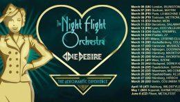 Pocos días para la gira de The Night Flight Orchestra