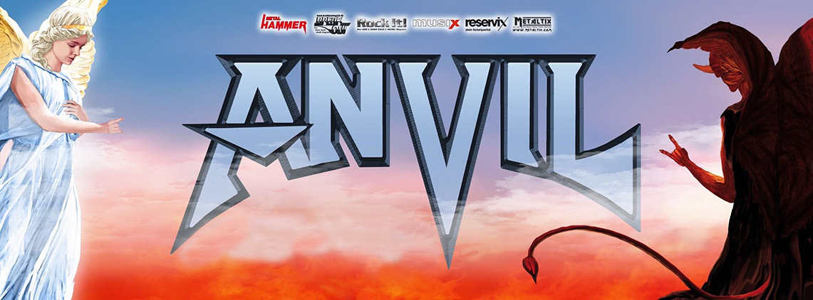 Anvil: Legal at last // AFM Records