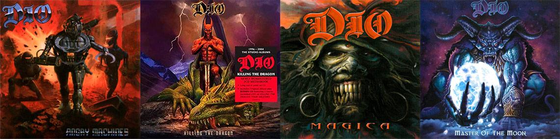 Nuevas de reediciones de DIO a la venta