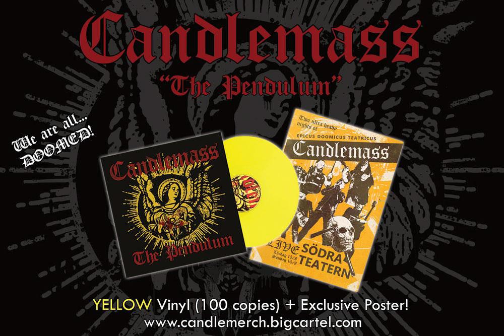 Candlemass: The Pendulum // Nuclear Blast