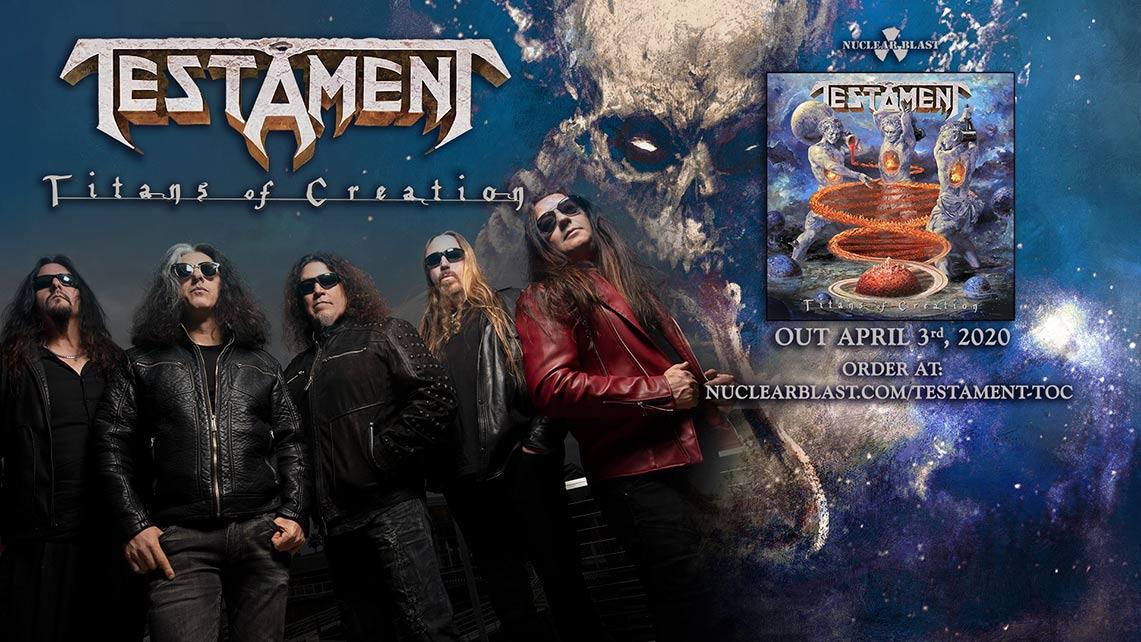 Testament: Titans of Creation // Nuclear Blast