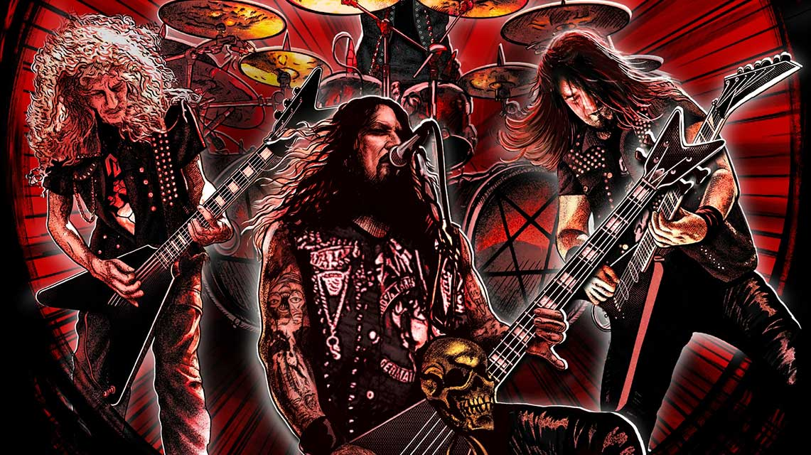 Destruction: Born To Thrash – Live In Germany // Nuclear Blast