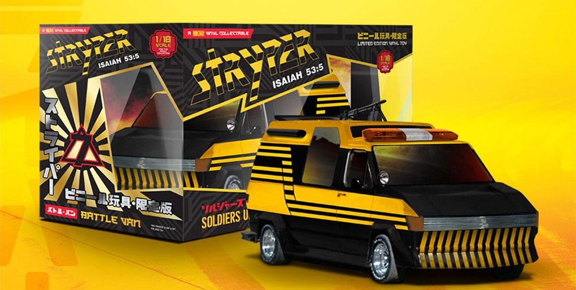La Battle Van de Stryper, ya a la venta