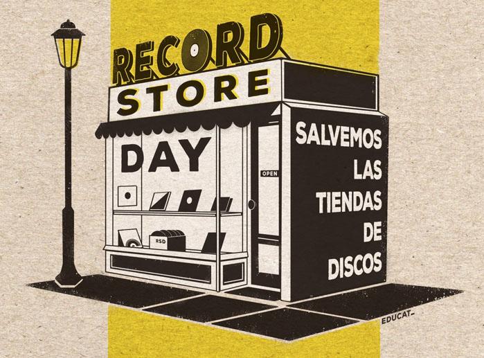 Record Store Day Spain lanza «Salvemos las tiendas de discos», el próximo mes de Junio