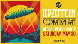 """Celebration Day"" de Led Zeppelin, disponible durante un período de tiempo limitado, #RockWithMe"