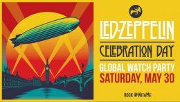"""""""Celebration Day"""" de Led Zeppelin, disponible durante un período de tiempo limitado, #RockWithMe"""