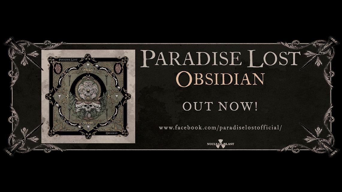 Paradise Lost: Obsidian // Nuclear Blast