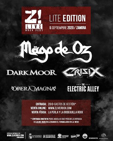 Z! Live Rock Fest tendrá edición Lite el próximo Septiembre