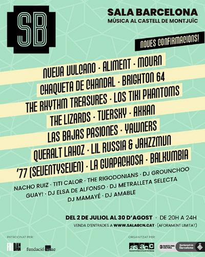 Nuevo ciclo de conciertos en Sala Barcelona