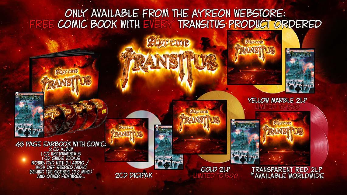 Trailer y preorder activo de «Transitus», lo nuevo de Ayreon
