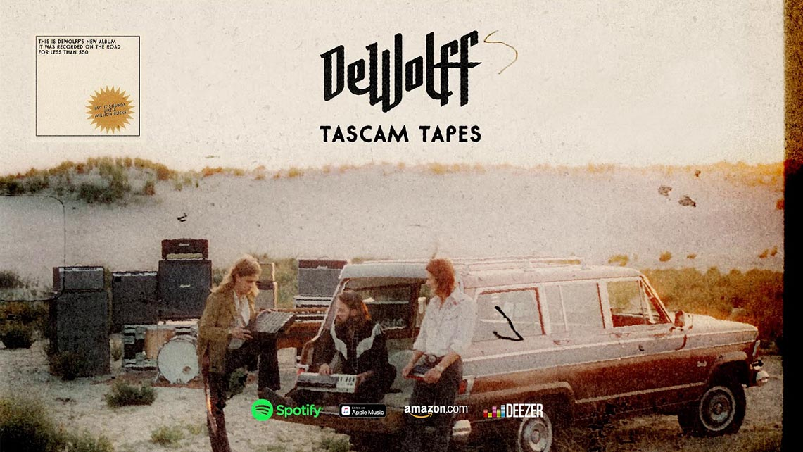 DeWolff: Tascam Tapes // Mascot Records