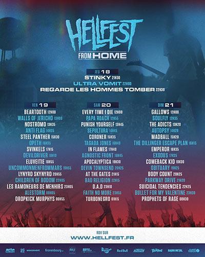 Hellfest, Azkena Rock y Graspop este fin de semana en Streaming