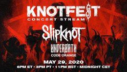 Crónicas en cuarentena desde el Knotfest Virtual