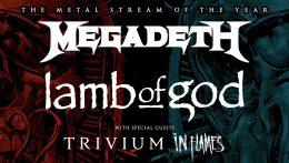 The Metal Tour Of The Year este viernes en streaming
