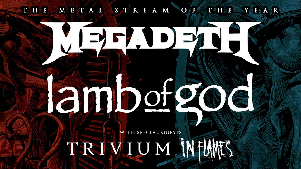 The Metal Tour Of The Year este viernes en streaming