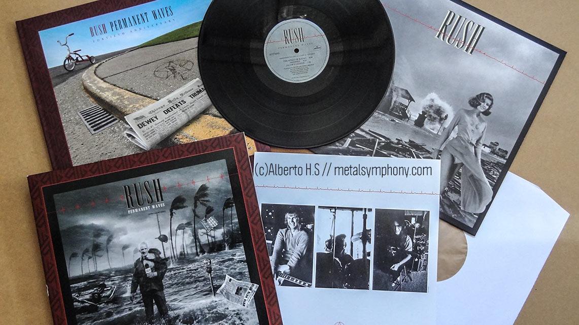 Rush celebran los 40 años del «Permanent Waves» con una caja en edición de lujo para coleccionistas