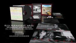 """Reediciones especiales del """"Permanent Waves"""" de Rush por su 40 aniversario"""