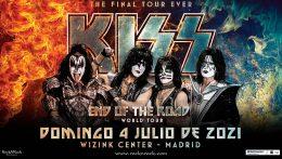 Kiss mantienen su concierto en Madrid para 2021