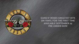 Guns n' Roses lanzarán su Greatest Hits en vinilo por su 25 aniversario