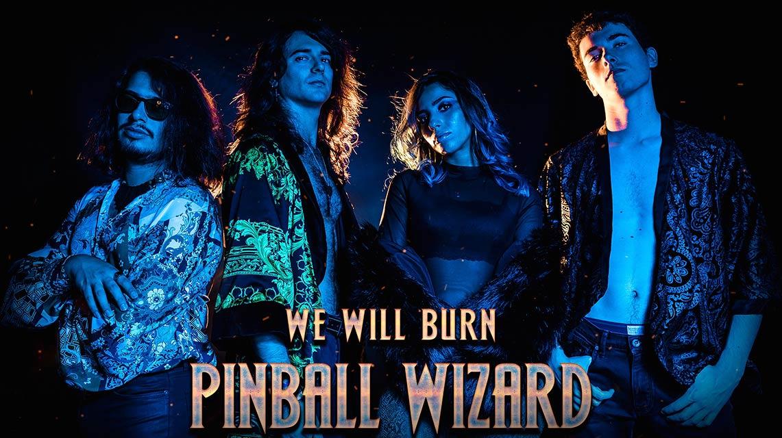 «We will burn», nuevo vídeo de Pinball Wizard