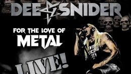 Dee Snider: For the love of metal Live // Napalm Records
