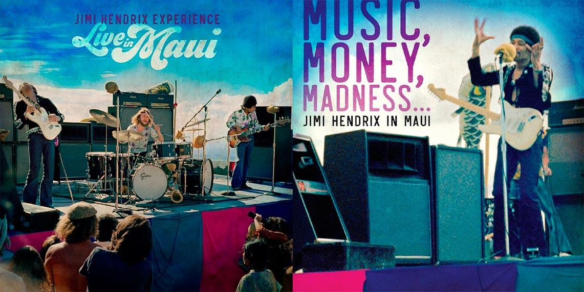 «Jimi Hendrix Live in Maui», lo próximo de la leyenda de la guitarra