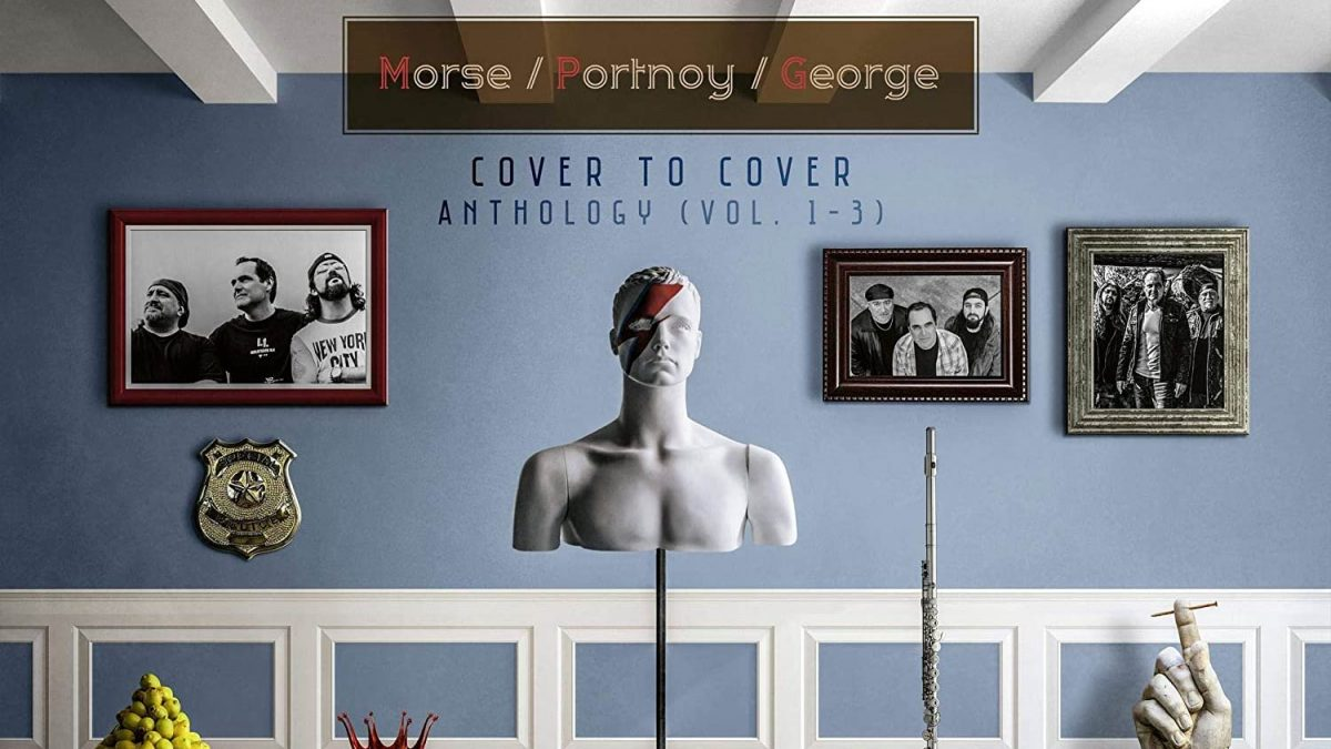 Morse-Portnoy-George: Cover to Cover Anthology Vol.1-2-3 // Inside Out Music