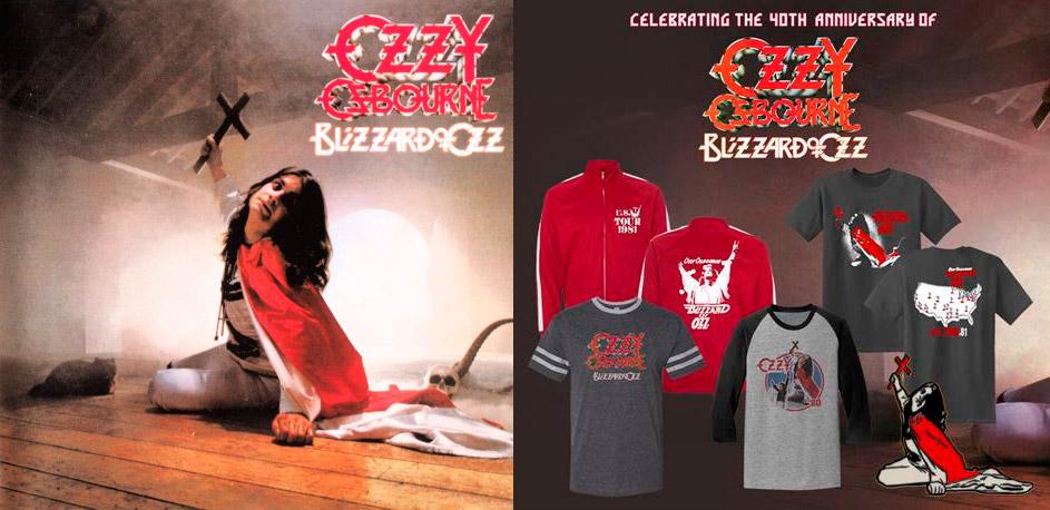 Detalles de la reedición por el 40 aniversario del «Blizzard Of Ozz» de Ozzy