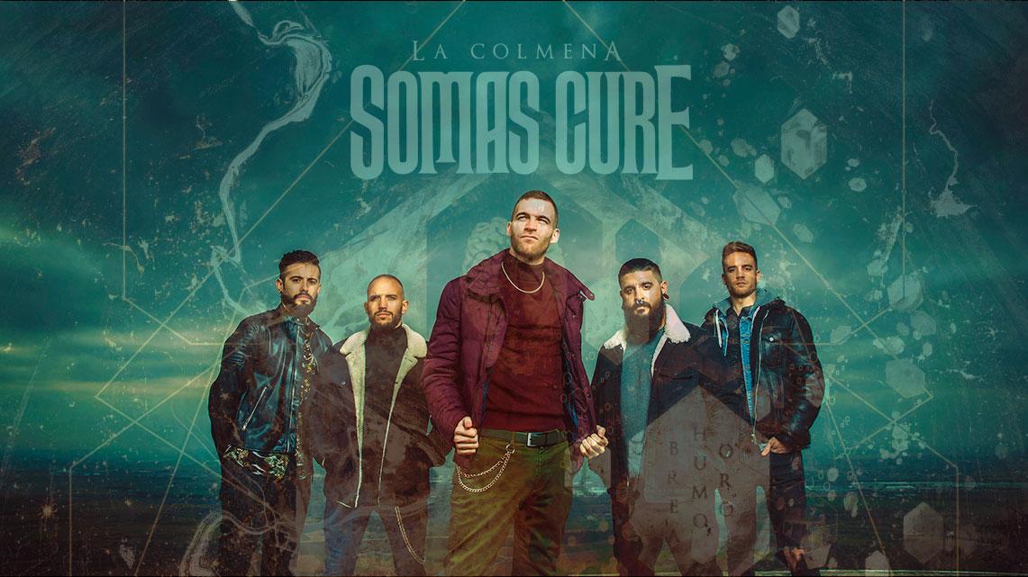 Rueda de prensa de Somas Cure presentando «La Colmena»