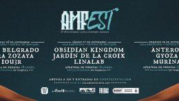 Cartel completo y detalles para el AMFest  de este año